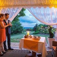 Romantischer Kurzurlaub mit Dinner im Freien bei Kulmbach fuer 2