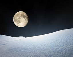 Sterne, Schneeschuh, Schlemmen und Schlittenfahren.