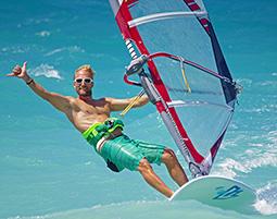 Windsurfen wie die Goetter in der Aegaeis!