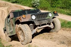 Platz da fuer den Hummer, den dicken Brummer!