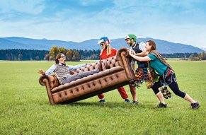 Dafür lässt jeder sein Sofa sitzen!