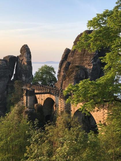 Bastei oberhalb von Rathen