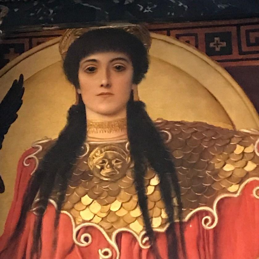 Zwickelbilder von Klimt im KHM