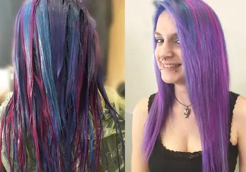 Frau Rer mit Mut zur Farbe  Ihr Friseur an der