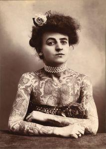 Tatoo-Künstlerin Maud Stevens Wagner