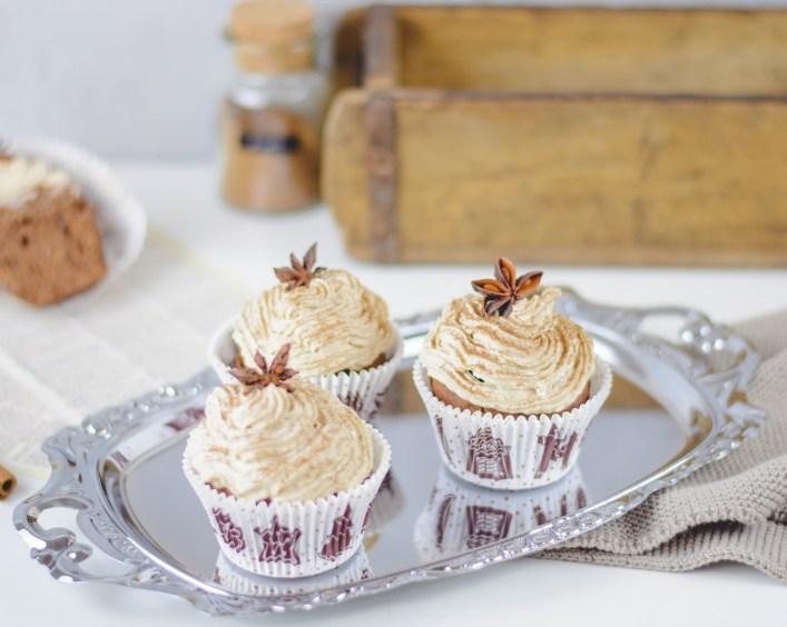 Zuckerfreie Lebkuchen Muffins