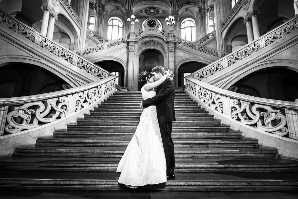 Hochzeitsfoto Kriminalgericht Berlin Moabit