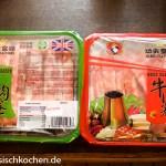 Lammfleisch Rindfleisch für Hot Pot