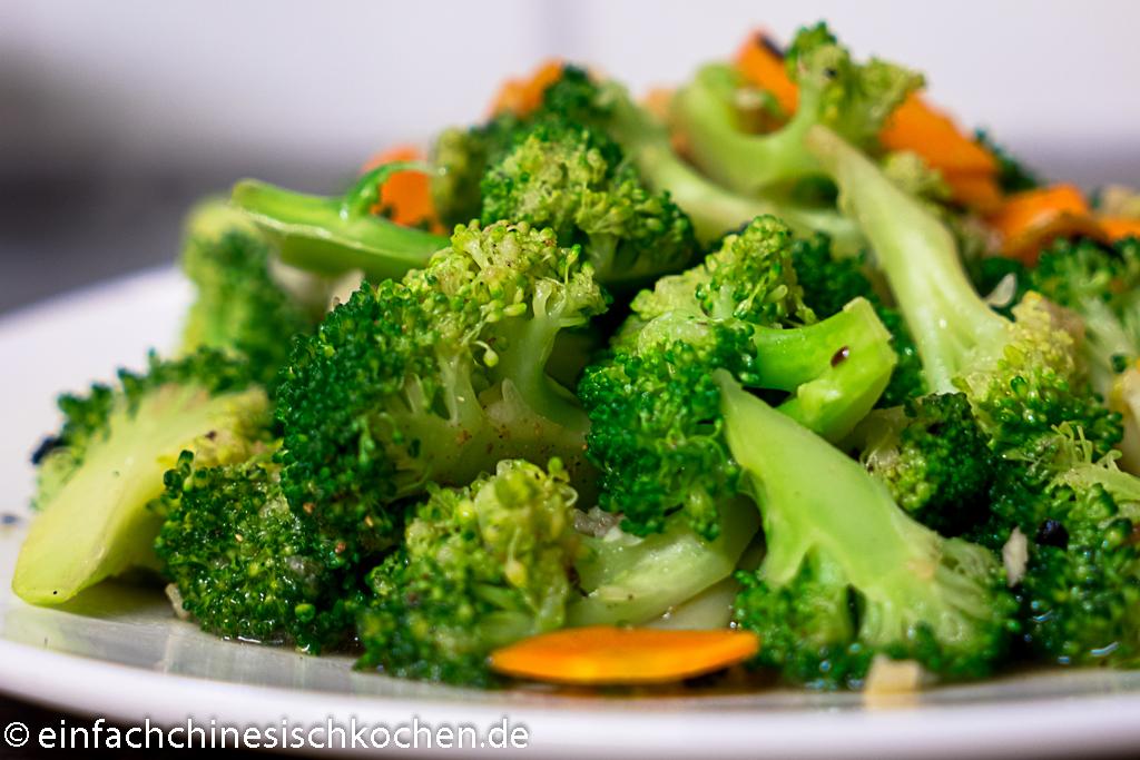 蒜蓉西兰花-Gebratener Brokkoli mit Knoblauch
