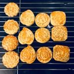 Mondkuchen mit fünf Kerne Füllung