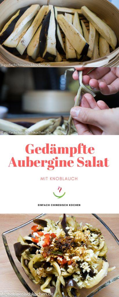 Auberginen Salat