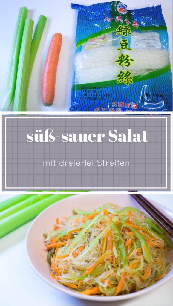 糖醋拌三丝_süß-sauer Salat mit dreierlei Streifen