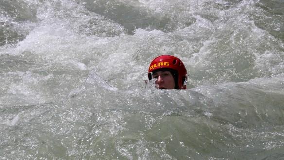 Luci im Wildwasser, einfachmalraus.net