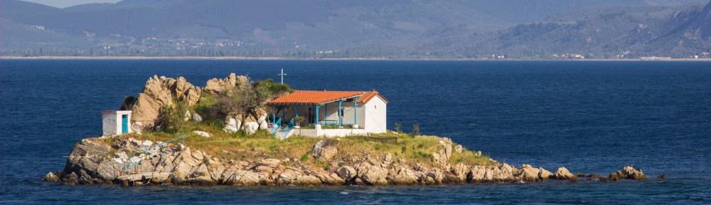 Insel im Kolpos, einfachmalraus.net
