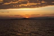 Sonnenaufgang über der türkischen Küste