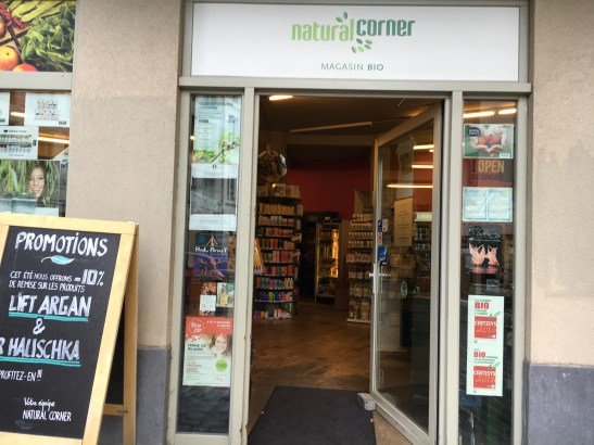 "Magasin Bio ""Natural Corner"""