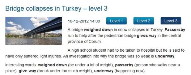 News in Levels - Lee noticias dependiendo de tu nivel