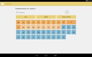 [Aplicación Android] Pronunroid - IPA Pronunciation