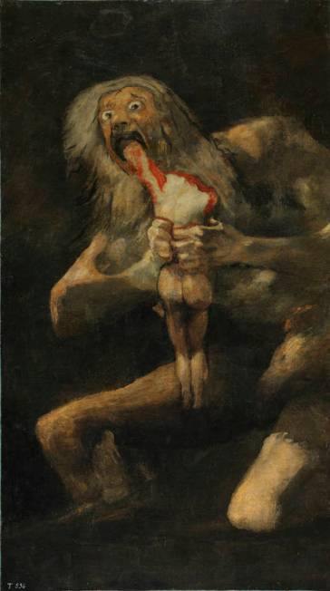 Goya - Saturn devouring his Son