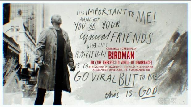 Birdman-Oscar