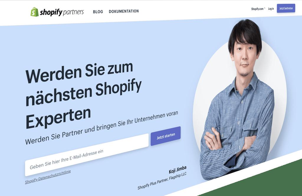 Die Shopify Agentur - Online Shop Setup, Design und Support aus Berlin partner_banner-1024x666