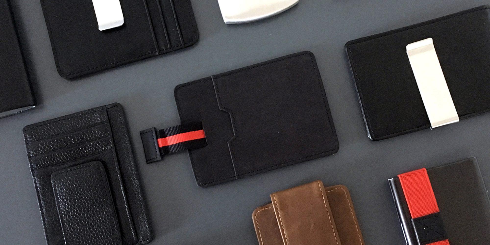 Kleine Leder Schwarze Geldbörse Herren Kompakt 8 Karte 1 Schein Rfid Schutz