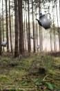 Als das Geschirr fliegen lernte.