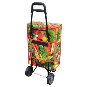 Einkaufstrolley james veggie Rückseite