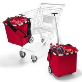 carrycruiser von reisenthel am Einkaufswagen
