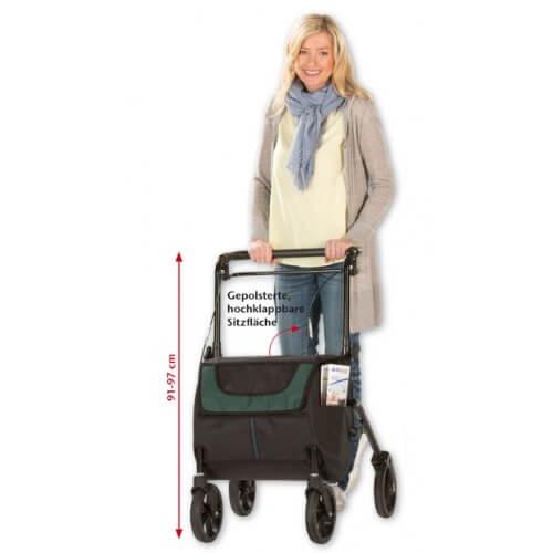 Einkaufsrollator aktiv Komfort