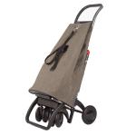 ROLSER Einkaufsroller LOGIC TOUR ECOMAKU Seitenansicht / Einkaufstrolley Vergleich / Einkaufstrolley Test
