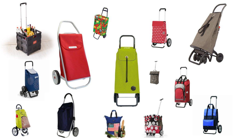 Einkaufstrolley Übersicht / Weihnachtsgeschenk ➤ Einkaufstrolley