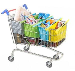 Trolley Bag Organizer / Einkaufstrolley Vergleich