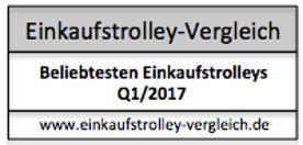 Beliebtesten Einkaufstrolleys Q1/2017