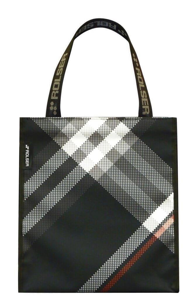 ROLSER Shopping Bag Bora schwarz   Einkaufstrolley-Vergleich.de