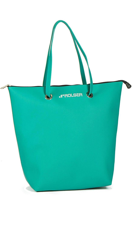 ROLSER Shopping Bag SUPERBAG grün  Einkaufstrolley-Vergleich.de