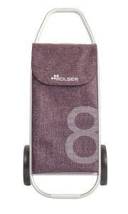 Der NEUE Einkaufsroller Rolser COM Tweed 8 - Malve - Außergewöhnliches Design - Einkaufstrolley-Vergleich.de