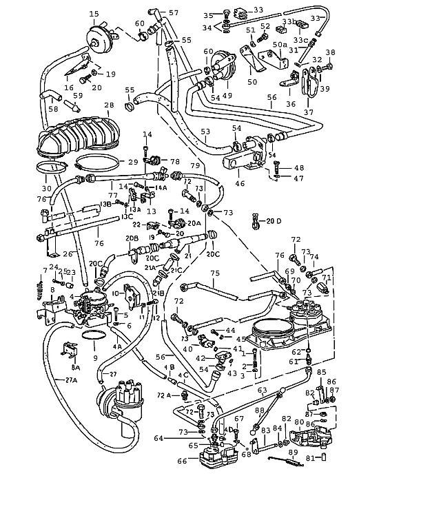 Porsche 911 1978-1983 Cycle valve (-80)…