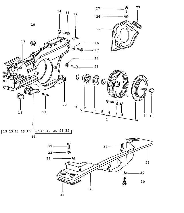Porsche Porsche 914 Right air vent cover tin