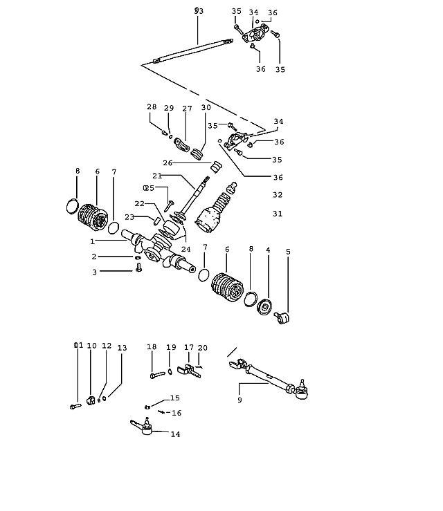 Porsche 914 Steering coupling
