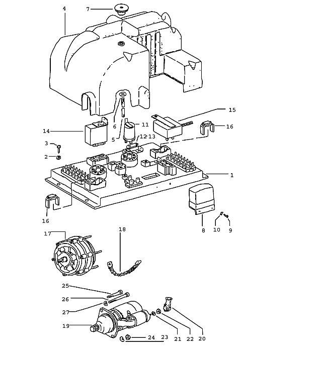 Porsche 914 Regulator switch 914