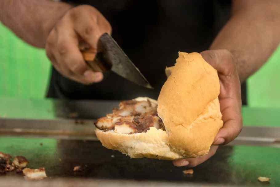 Valladolid Mexiko: Tortas musst du essen
