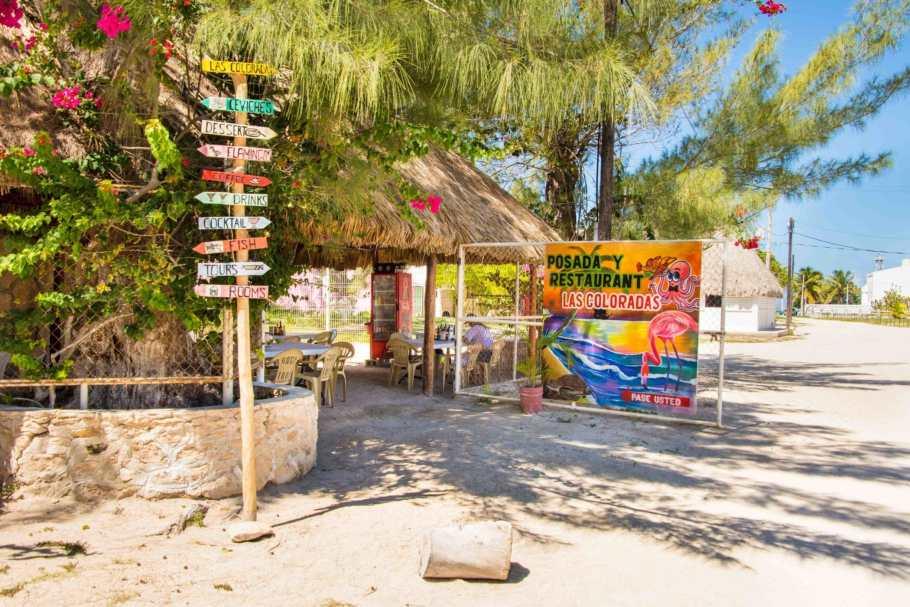 Las Coloradas, bei Posada y  Restaurant Las Colorados