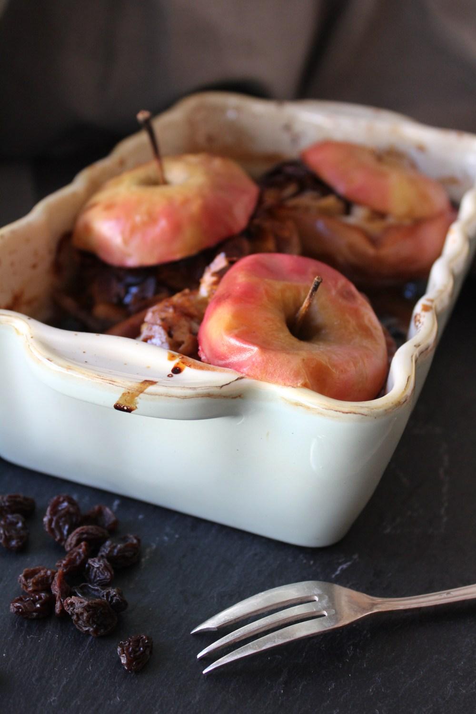 Bratapfel mit Marzipan von Einmal Nachschlag, bitte | Foto: Linda Katharina Klein