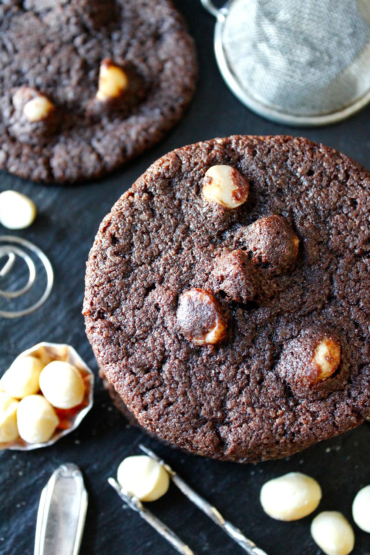 Rezept für Chocolate Macadamia Cookies von Einmal Nachschlag, bitte!