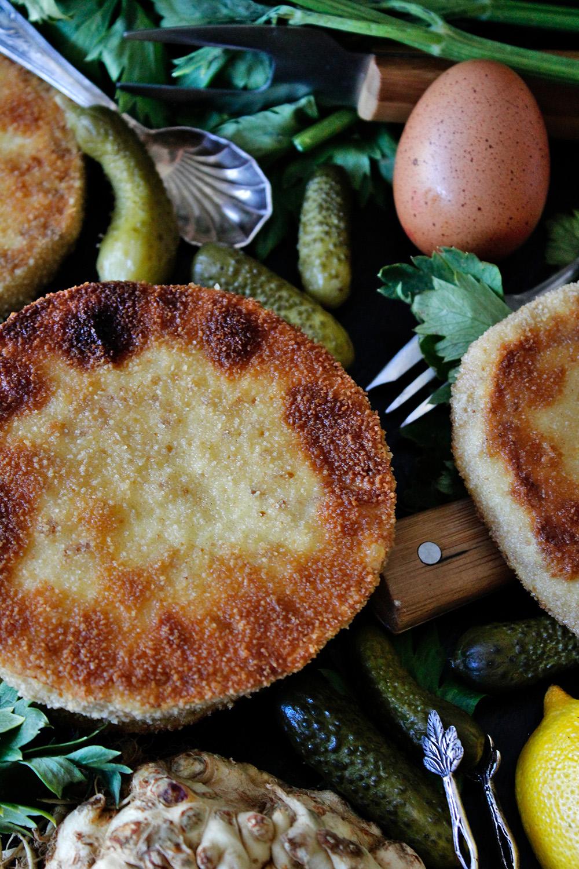 Rezept für Sellerieschnitzel von Einmal Nachschlag, bitte!