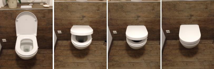 WC  Ein neues Haus