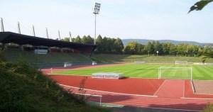 Die Heimstätte des KSV Baunatal - das Parkstadion