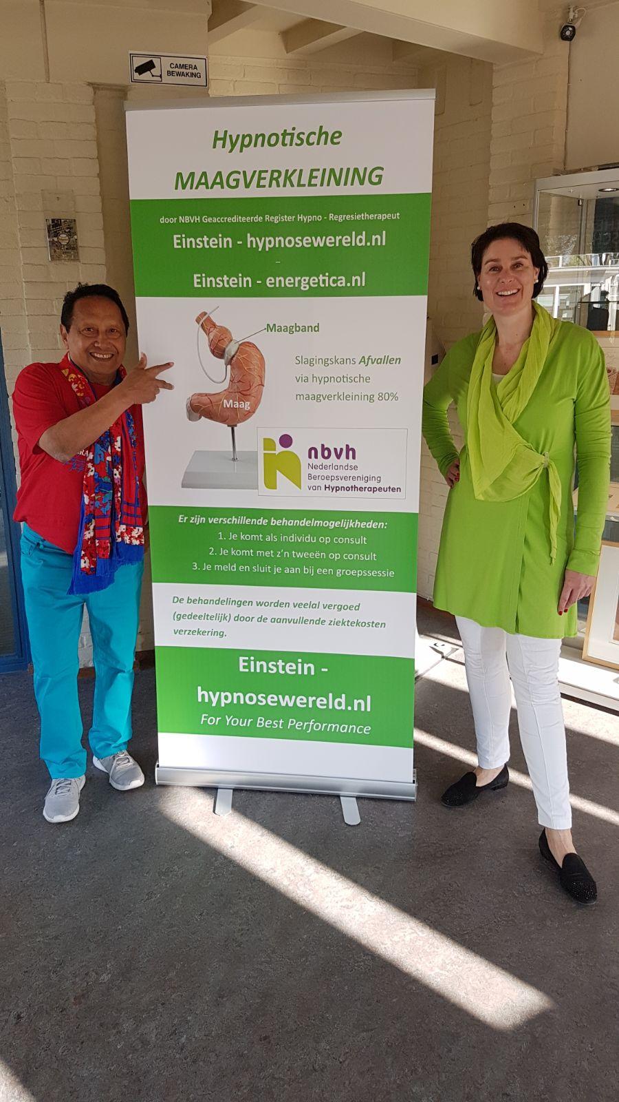 Hypnotische maagband groepssessie in Leiden