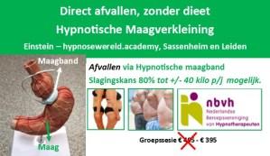 Hypnotische maagband Einstein Hypnosewereld academy